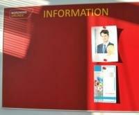 магнитный информационный стенд