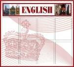 информационный стенд классный уголок английского языка