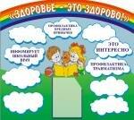 информационный стенд здоровье ребенка